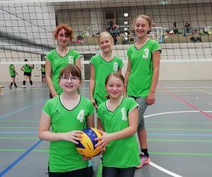 Erfolgreicher Start der U13 Jugendvolleyballerinnen der SG DJK/TSG Bruchsal