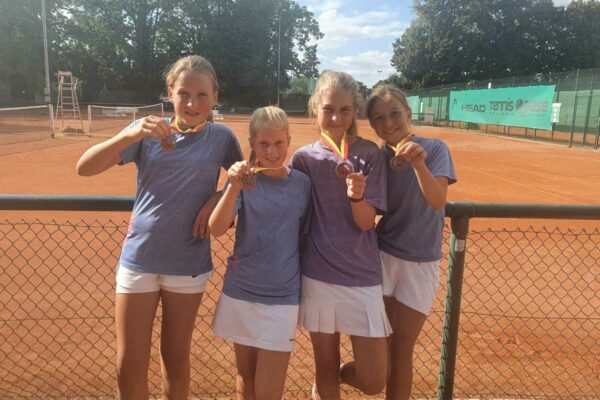U12 Juniorinnen belegen Platz 3 bei den badischen Mannschaftsmeisterschaften