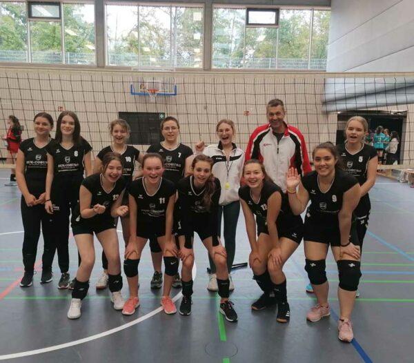 U18 wbl. der SG DJK/TSG Bruchsal startet erfolgreich in der Bezirksliga.